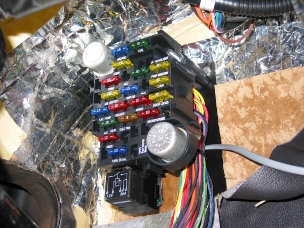 Wiring A Car Fuse Box