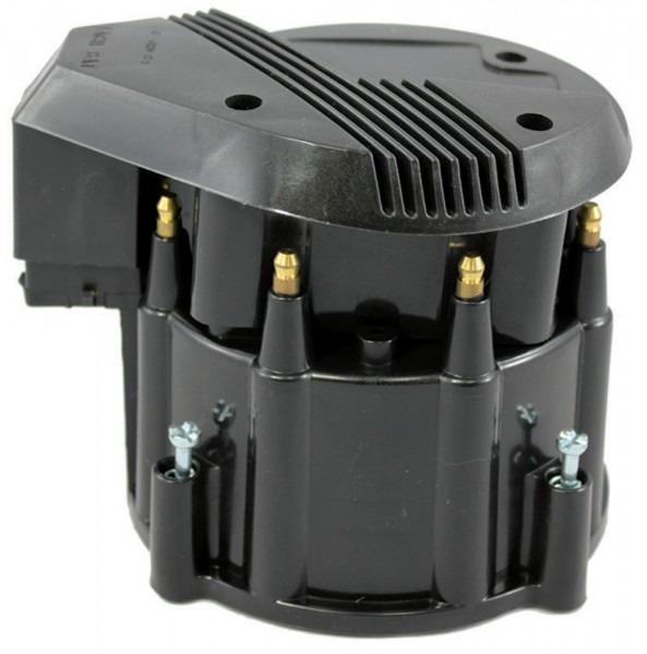 Black Hei Performance Distributor Cap & Rotor Hot V8 Sbc Bbc Olds