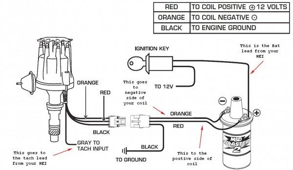Delco Remy Hei Distributor Wiring Diagram