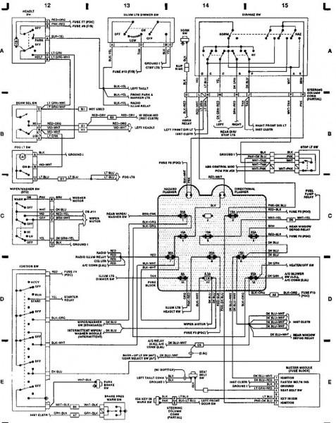 92 Wrangler Engine Diagram