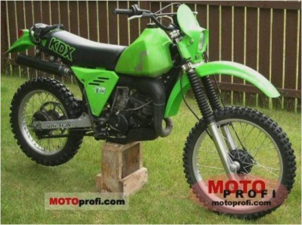 Kawasaki Kdx175 Model History  U00e2 Cyclepedia  U2013 Car Wiring