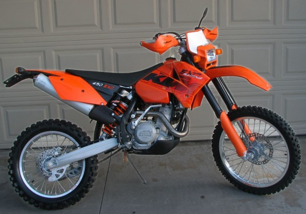 Sold – 2006 Ktm 450 Exc – California Street Legal