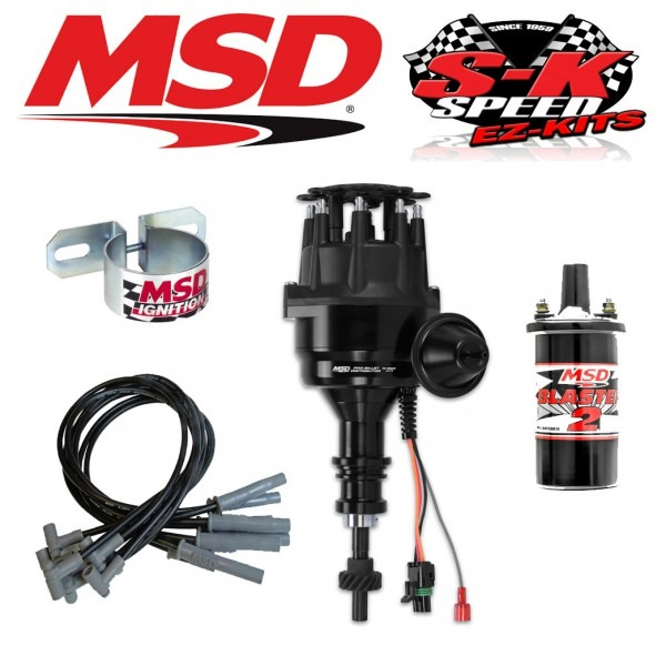 Msd 99023 Ignition Kit Ready To Run Distributor Wires Coil