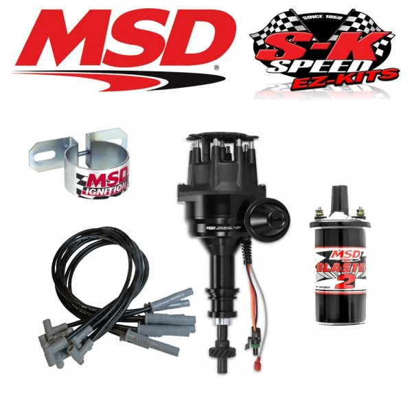 Msd 99063 Ignition Kit Ready To Run Distributor Wires Coil Ford