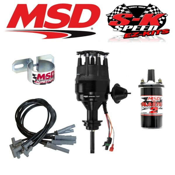 Msd 99113 Ignition Kit Ready To Run Distributor Wires Coil