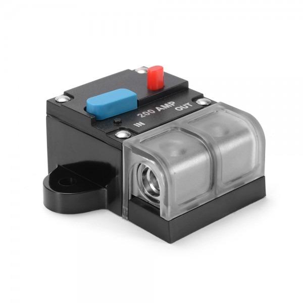 12v 200 Amp Mc Audio Circuit Breaker Inline Fuse Holder Insurance