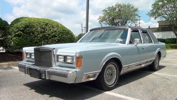 My First Car  A 1989 Lincoln Town Car