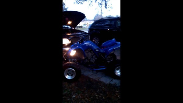 Yamaha Raptor Won't Start  Help!!!!