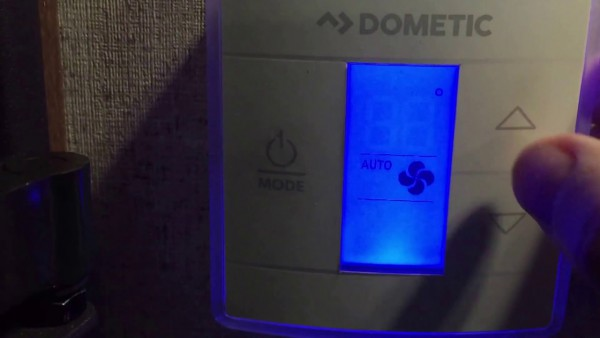 Dometic Thermostat Operation