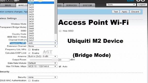 Ubiquiti Nanostation M2 Setup As Ap Wifi Easy Step By Step (bridge