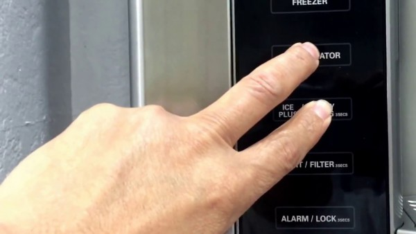 New Lg French Door Refrigerator Is Not Cold With Ff Error Code