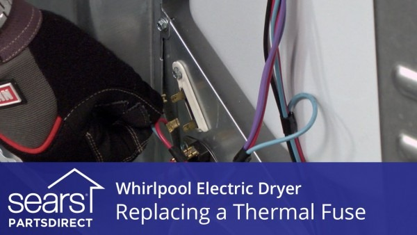 How To Replace A Whirlpool Electric Dryer Thermal Fuse