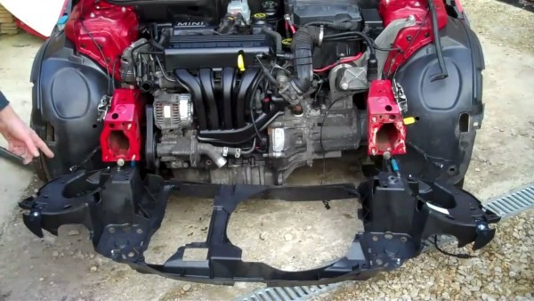 How To Fit The Plastic Front Panel To Mini Cooper