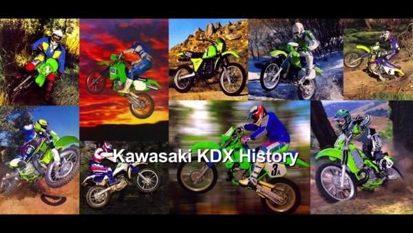 Kawasaki Kdx175 And Kdx200 History