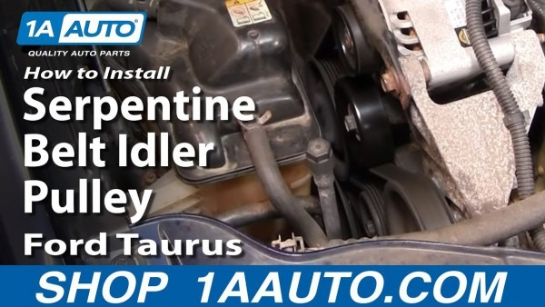 How To Replace Idler Pulley 00
