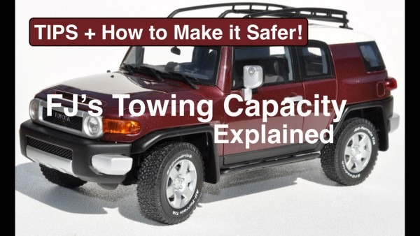 Wds  Ebc  Towing Capacity Of Fj Cruiser Explained + What & How