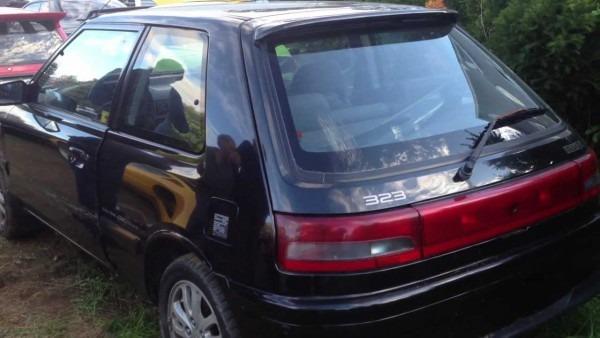 1993 Mazda 323 At Auction
