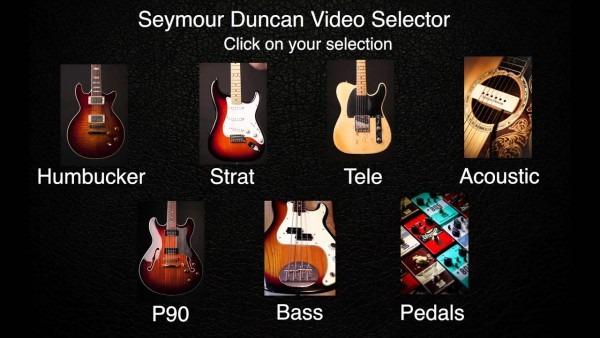 Video Pickup Selector