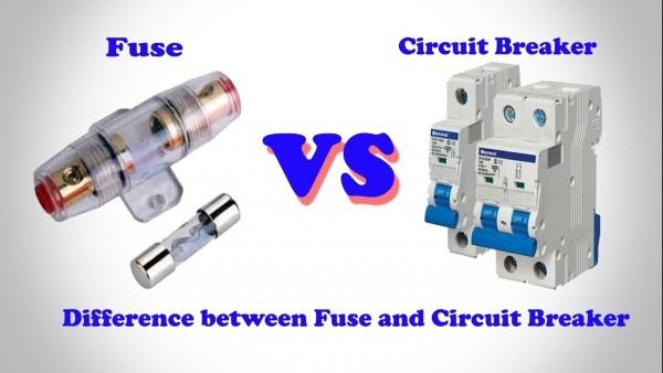 Fuse Vs Circuit Breaker │ Difference Between Fuse And Circuit
