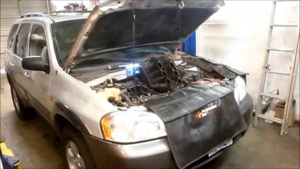 2004 Mazda Tribute   Ford Escape 3 0 V6 Spark Plug Replacement