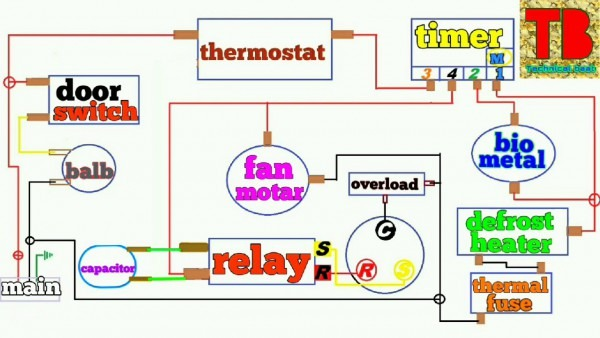 Wiring Diagram Of Frost Free Refrigerator