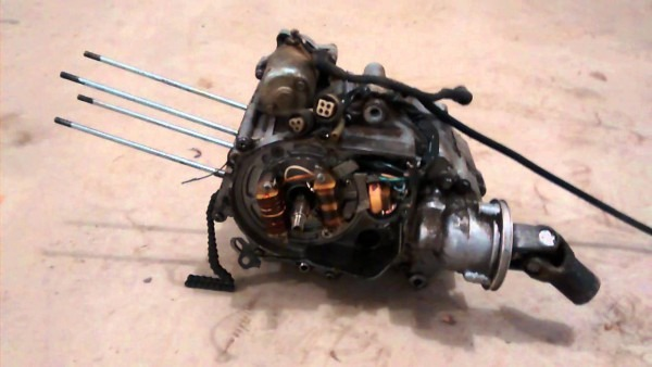 1985 Yamaha Moto 4 Wheeler 80cc Yfm80 Engine  U2013 Car Wiring