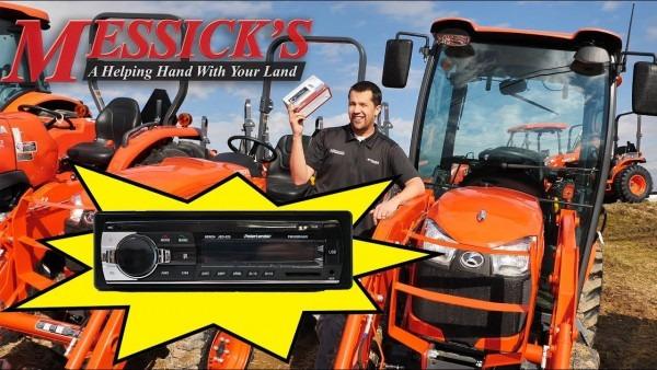 Messick's $89 Bluetooth Radio For Kubota Tractors