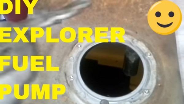 Repair Replace Ford Explorer Fuel Pump