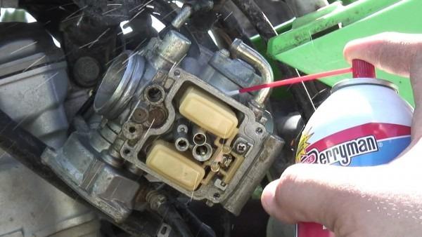 2003 Kawasaki Kfx400 Carburetor Cleaning