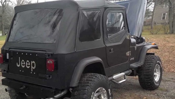 1989 Jeep Wrangler Yj W  Sbc & Lift  For Sale