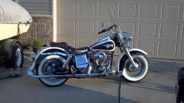 1979 Flh Harley Davidson Shovelhead!