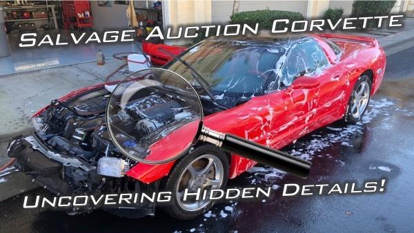 Salvage Auction C5 Corvette Investigation   How Was It Taken Care