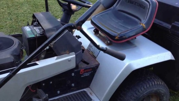 14hp Craftsman Ii Riding Lawn Mower With 38 Inch Deck, Plow