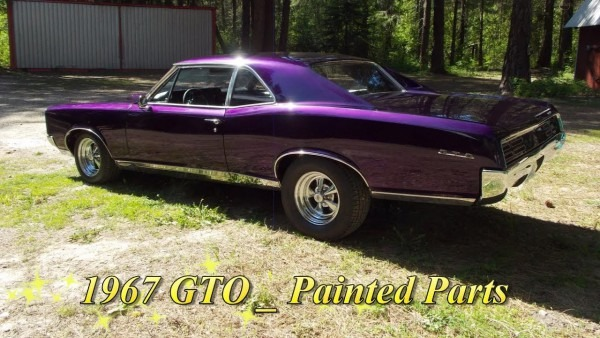 1967 Gto _ Painted Parts _ Hot Rods Muscle Cars _ Jim De Built