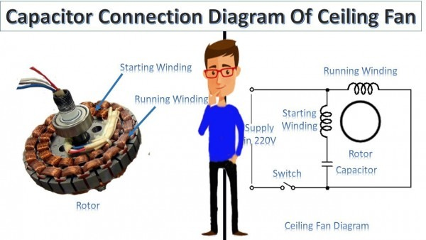 Ceiling Fan Motor Diagram