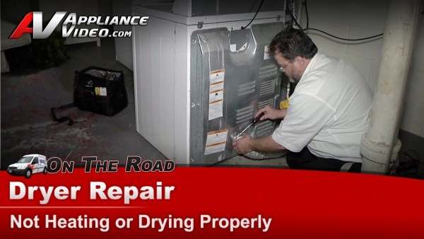 Amana & Whirlpool Gas Dryer Repair