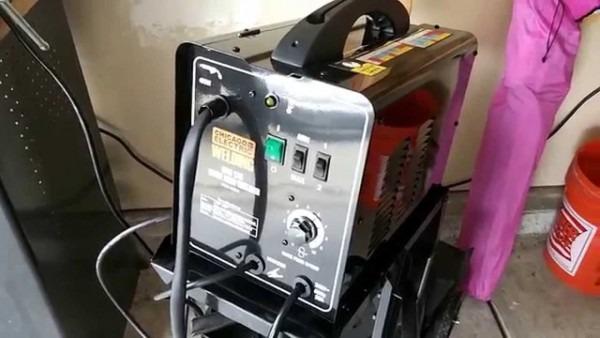 Chicago Electric Mig 170 180 Welder Outlet