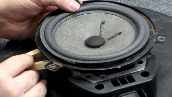 How To Replace Infinity Jeep Liberty Or Cherokee Speaker Foam