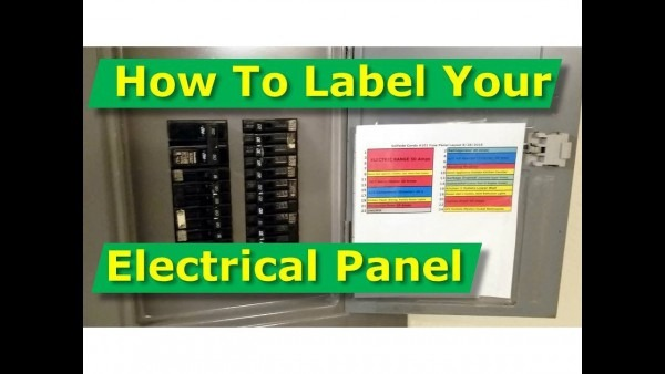 How To Map Out, Label Your Electrical Panel Fuse Panel Diagram