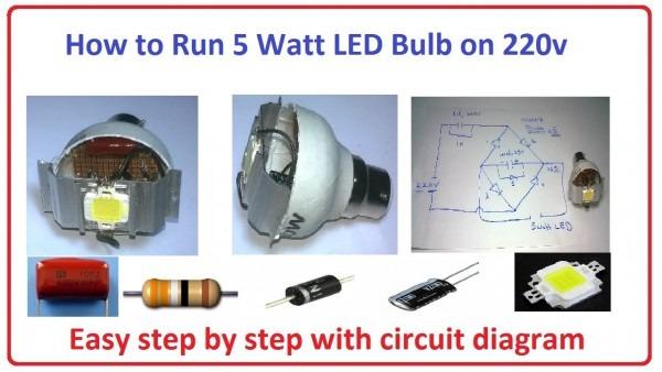 Wiring Diagram For Led Bulb