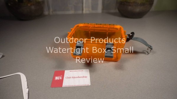Outdoor Products Watertight Box Small Review