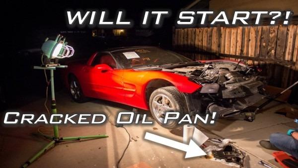 Will My Salvage Auction C5 Corvette Start