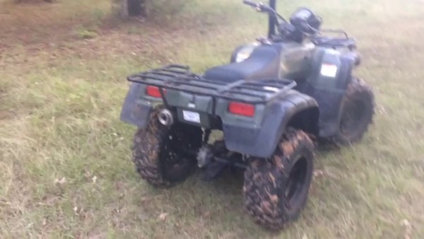 Lifted Honda Foreman