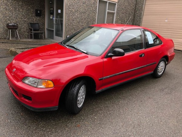 1993 Honda Civic Dx Sedan – Honda Worldwide