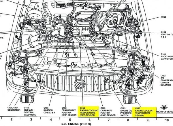 2000 Mercury Sable Engine Diagram