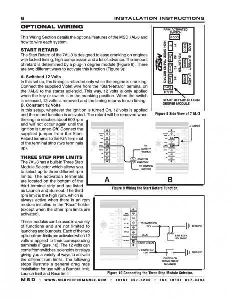 Msd 7al 3 Wiring