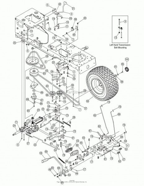 Mtd Parts Diagram Yardman Tractor Parts Diagram Best Of