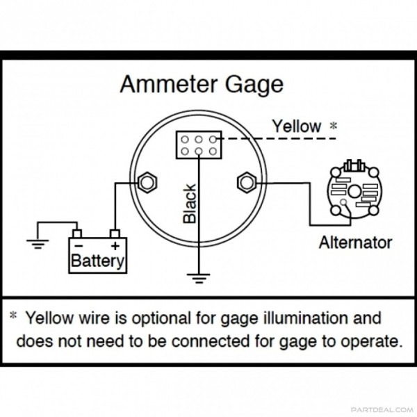 Stewart Warner Amp Gauge Wiring Diagram