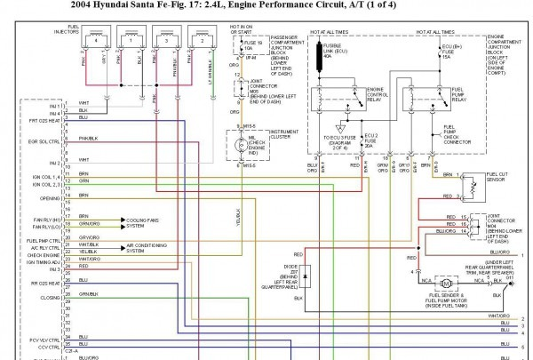 2003 Hyundai Santa Fe Fuel Tank Wiring Diagram