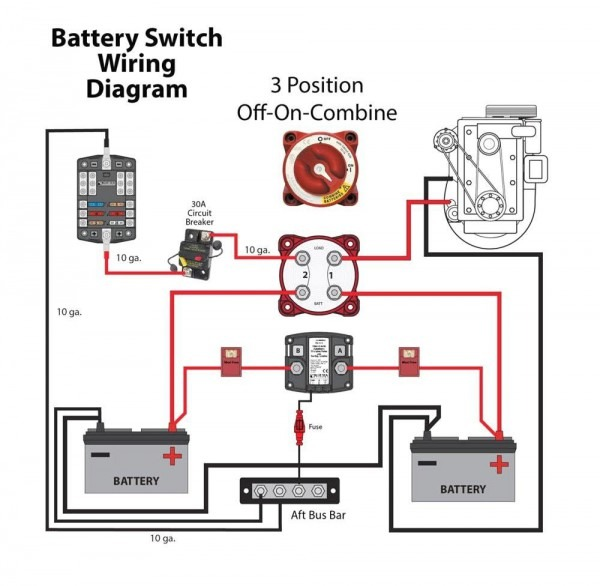 Perko Battery Switches Wiring Diagram